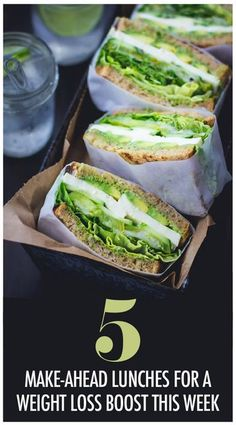 Eating healthy is often associated with bland, flavorless dishes that don't satisfy your cravings. You'll love these 5 easy, make-ahead lunches that will help you stick to your weight loss goals. Womanista.com