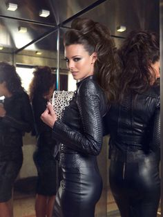That Lady in Leather