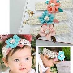 New Headband Hair Clothing Toddler Children Flower Bow Baby Accessories C99D | eBay