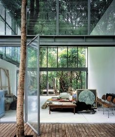 How cool is this forest home?