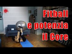 Esercizi in casa con la Fit ball - CoreFx