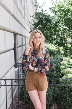 Kristen's pretty Paper Crown blouse