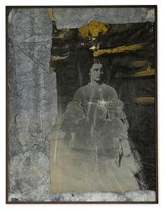 From Sotheby's: Contemporary Art Day Auction, Anselm Kiefer, Elisabeth Von Oesterreich, Gelatin silver print and treated lead mounted to wood, in artist's … Anselm Kiefer, Richard Burlet, Edward Hopper, Modern Art, Contemporary Art, Grafik Art, Statues, Portrait Art, Portraits
