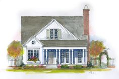 18 Small House Plans: Cherry Hill, Plan #1843