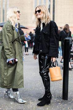 Street style à la Fashion Week automne-hiver 2017-2018 de Londres