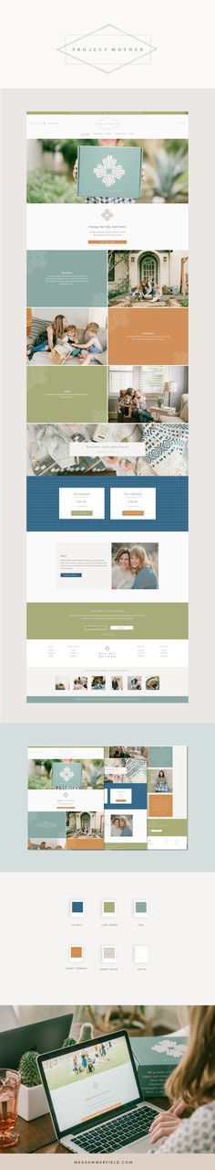 See the Site Live: ProjectMother.co Services Provided: Custom Squarespace Site Project in Collaboration with DropCapDesign