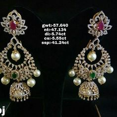 Today's bridal one of the most talented makeup artist in and our favourite… Gold Bangles Design, Gold Earrings Designs, Jewellery Designs, Gold Hoop Earrings, Diamond Earrings Indian, Diamond Jewellery, Diamond Studs, Gold Jewelry, Jewel Box