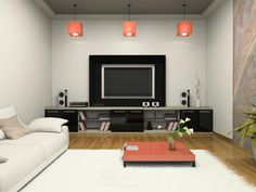 DIY Networks has all the information about how to set up an audio system in a media room or home theater.