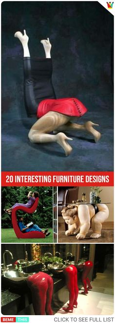 20 Interesting Furniture Designs That Will Make Your Home a Fun Place #home #designs #furniture #decor #photos #funnypics #funnypictures #humor #weird #bemethis