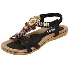 Summer Boho Gladiator Sandals