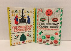 Christmas Cookie Holiday Candy Book Set by ColsonsCollectibles
