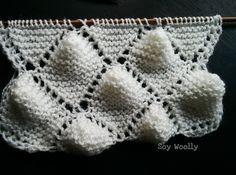 Punto Portugués: especial para mantas de bebé reversibles! #punto #tejer #dosagujas #tutorial #soywoolly