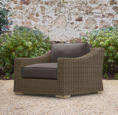 37x41  Provence Lounge Chair   Ottomans   Restoration Hardware
