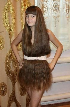 13 neue unfassbare Frisuren!  Ich hab die Haare schön - auch unten rum