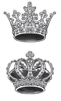 Tattoo ideas for couples king queen tat ideas for 2019 - Tattoo Oberschenkel Frau Trendy Tattoos, New Tattoos, Body Art Tattoos, Tattoo Drawings, Sleeve Tattoos, Tatoos, Queen Crown Tattoo, King Queen Tattoo, Tattoo Crown