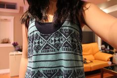 I really really love this tribal tank top it is super duper cute 2 wear in the Summer Time<3<3<3<3<3<3<3
