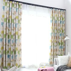 Laundry Living Room Bedroom 26 X 39 Inch 2 Pieces Bath Starry Galaxy Print Unicorn Colours Kitchen Curtains Window Curtain Tiers for Caf/é