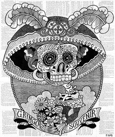 Тайна жизни и смерти в картинах Брэндона Мальдонадо - Ярмарка Мастеров - ручная…