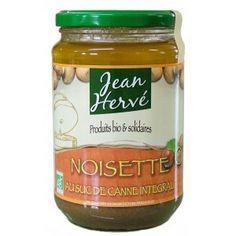 CONFIT NOISETTE 750G SUCANAT BIO µ 11.58€ par 6    Délicieux praliné de noisette toastées au feu de bois et de suc de canne intégral, à tartiner sur du pain au petit déjeuner ou à incorporer dans les pâtisseries (par exemple une cuillerée à soupe dans l'appareil de la mousse au chocolat) pour un goût praliné unique.     Ingrédients :  Noisettes de Sicile 70%*, suc de canne intégral du Costa Rica issu du commerce équitable*