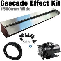 DIY Water Wall KIt | Casade Effect 1500mm Spillway - FREE SHIPPING