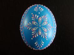 An example of beautiful Pysanka egg.