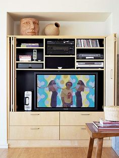 Some Assembly Required    When investing in media storage, think long term. Choose ready-made units that offer flexible shelving so it can grow and change with your collection.