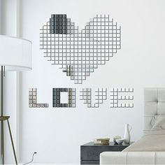 New at Lazaara the 3D Acrylic Sticker 100 Pcs/Set Mosaic Mirror Wall Stickers for only  2,99 €  you safe  60%.  Home Decorations 100 Pcs/Set Mosaic Mirror Wall Stickers   3D Acrylic Sticker Square Shape 2cm x 2cm https://www.lazaara.com/en/home-decor/13786-3d-acrylic-sticker-100-pcsset-mosaic-mirror-wall-stickers.html  #Lazaara #Amazing #Shopping #AmazingShopping #LazaaraAmazingShopping