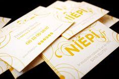 Nos cartes de visites www.niepi.fr