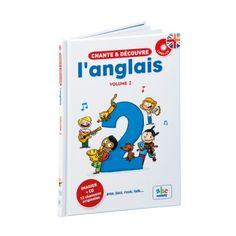 Livre-CD Chante et découvre l'anglais 2 pour enfant de 4 ans à 12 ans - Oxybul éveil et jeux
