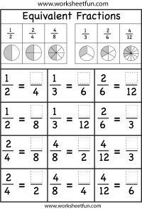 Nice Math Worksheets Equivalent Fractions that you must know, Youre in good company if you?re looking for Math Worksheets Equivalent Fractions Fractions Équivalentes, Math Fractions Worksheets, 3rd Grade Fractions, 3rd Grade Math Worksheets, Teaching Fractions, Equivalent Fractions, Fourth Grade Math, Comparing Fractions, Adding Fractions