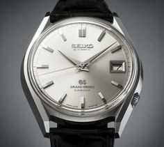 AdventuresInAmateurWatchFettling: The First Automatic Grand Seiko - The 6245-9001