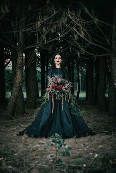 I'm Not Complete is a gothic bridal inspiration shoot featuring blood red roses, black bridal attire and moody elements by Italian photographer Andrea Fusaro. Witch Wedding, Viking Wedding, Red Wedding, Wedding Colors, Wedding Styles, Medieval Wedding, Punk Wedding, Summer Wedding, Black Wedding Dresses