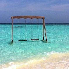 Love the  water swing