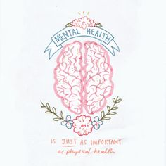Mental Health is Just as Important as Physical Health!- Mental Health is Just as Important as Physical Health! Mental Health is Just as Important as Physical Health! Mental Health Quotes, Mental Health Matters, Mental Health Stigma, Mental Health Awareness Month, May Mental Health Month, Inpatient Mental Health, What Is Mental Health, Importance Of Mental Health, Positive Thoughts