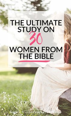 Well, friend, here it is! @@The Women of the Bible is officially open for  enrollment!@@ I am jumping up and down, hollering like a crazy person  excited for this Bible study. It's the first Bible study that I have put  together to sell and it definitely won't be my last! My hope is that  throug