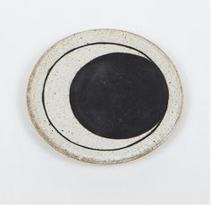 Moon Phases ceramic dish by Michelle Quan