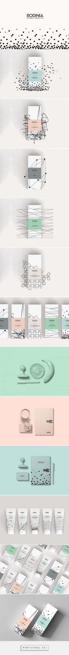 Rodinia Skincare Packaging by vassiliki fi | Fivestar Branding Agency – Design and Branding Agency & Curated Inspiration Gallery #packaging #packagedesign #packagingdesign #design #designinspiration #cosmeticpackaging #skincarepackaging