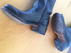 FRYE KiD's BLacK LaBeL BooTs Western Riding motorcycle