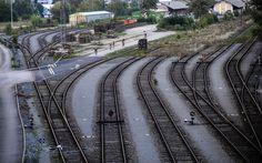 INDUST3 contest, Prague 2014 Urban Cycling, Fixed Gear Bike, Prague, Railroad Tracks, Fixed Gear, Train Tracks