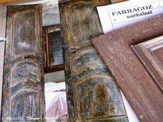 FARRAGOZ: Recreating Patina on another sample board