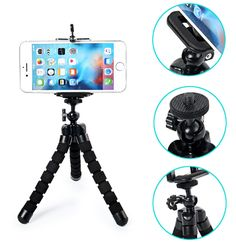 Super Cool Octopus Flexible Tripod for Digital Camera & Mobile Phone, Universal Stand Mount Portable Bicycle Holder Tripod Kit Dslr Photography Tips, Photography Equipment, Mini Camera, Best Camera, Film App, Nikon Digital Slr, Digital Cameras, Camera Deals, Phone Companies