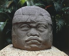 UNSPECIFIED - DECEMBER 10:  Mexico, villahermosa, tabasco, Olmec art, Colossal stone head of a warrior  (Photo by De Agostini Picture Library/De Agostini/Getty Images) via @AOL_Lifestyle Read more: http://www.aol.com/article/news/2016/09/28/ancient-roman-coins-found-buried-under-japanese-castle/21482662/?a_dgi=aolshare_pinterest#fullscreen