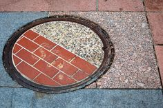 10 misplaced manhole covers to drive you crazy... My OCDedness is making me itchy~twitchy to fix these dang things right now!! :P lol