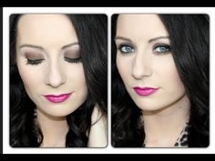 ▶ ♡Easy Brown Smokey Eye♡ Sultry, Flirty, Sexy Valentines Day Eye Tutorial: Lorac Pro Palette - YouTube