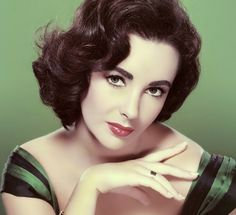 close detail pic Liz Taylor short vintage style, more pics at site with varying lengths