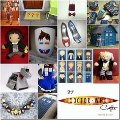 37 Doctor Who crafts and DIYs Probably going to use this as I redo my room