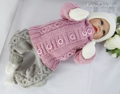 HAND KNITTING 2 PDF pattern-Baby knitted set, Knitting newborn cardigan and pants set, unisex knitting tutorial Pdf Patterns, Baby Knitting Patterns, Baby Patterns, Hand Knitting, Onesie Pattern, Pants Pattern, Baby Coming Home Outfit, Baby Jumpsuit, Baby Sweaters