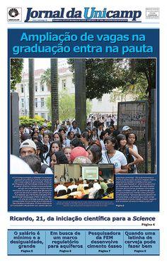 Unicamp debate proposta de ampliação de vagas na graduação