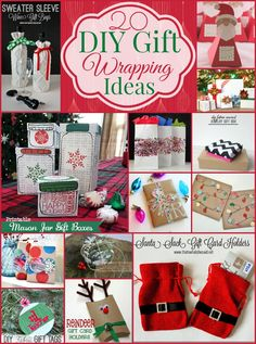 20 DIY Gift Wrapping
