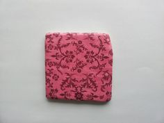 Pink Floral Vine Tumbled Marble Coasters Set by BaileyGirlCoasters, $15.00